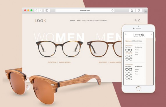 the look web design