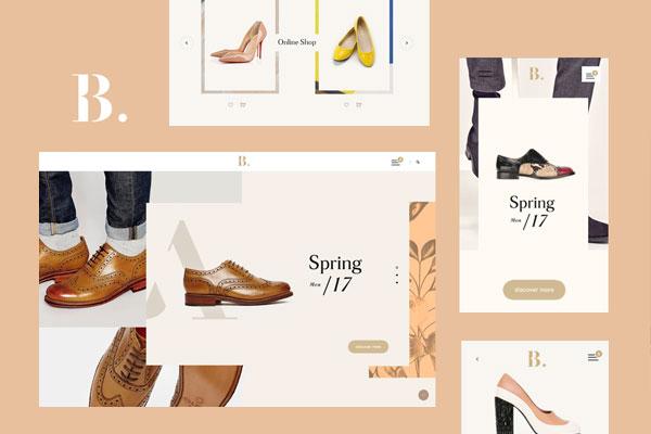 benjamin store web design